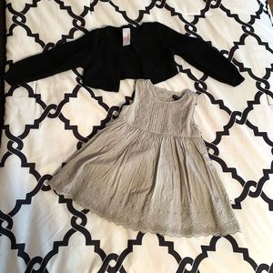 Gray Gap dress